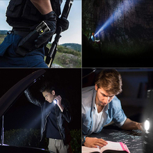 Outdoor Searchlight Super Bright Charge The Phone Disaster Prevention 3800 Lumens Rechargeable Flashlight