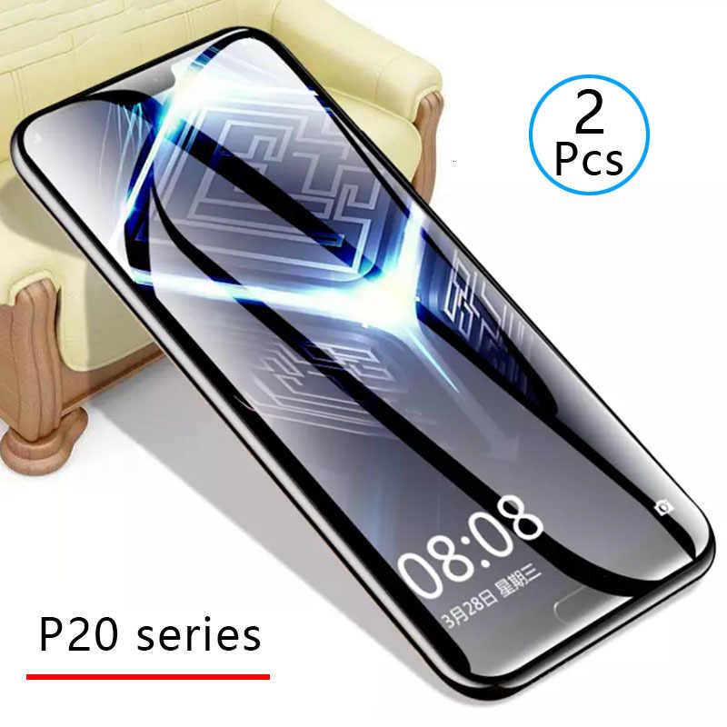 Bộ 2 Kính Cường Lực Cho Huawei P20 Lite P 20 Pro có Kính Cường Lực Bảo Vệ Màn Hình Điện Thoại An Toàn Bộ Phim Đô Thị Tremp Trên p20lite Đèn Ốp Lưng
