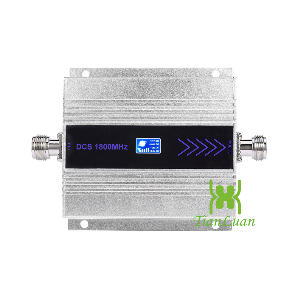 Image 2 - TianLuan Kit 4G LTE Mobile Signal Booster Repeater 1800Mhz  Cellphone Cellular DCS 1800 Cell Phone LCD Display   Sucker  AntennaSignal Boosters