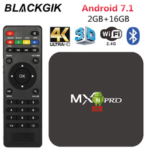 MX Pro Smart 4K TV Box Android 7.1 RK3229 Quad Core 2.4GHz W