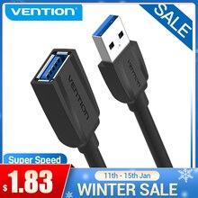 Vention usb 3.0 cabo de extensão usb 2.0 cabo usb macho para fêmea cabo de dados para smart tv ps4 xbox um pc usb 3.0 cabo de extensão