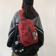 Best Quality Nylon Cloth Chest Pack Bag Fashion Functional Leisure Travel Crossbody Bag for Teenage Girls Man Shoulder Bags