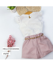 цены Kids Girls Clothing Sets Summer New Style Brand Baby Girls Clothes short Sleeve T-Shirt+Pant Dress 2Pcs Children Clothes Suits