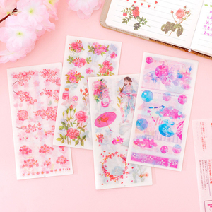 Image 3 - 20pack/lot Small fresh Flowers series Decorative Sticker for Diary Album Label DIY Scrapbooking Stickers Stationery