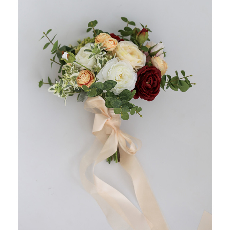 Gorgeous Wedding Bouquet New Arrival Free Shipping Wedding Accessories Bridal Bouquets 25*45cm