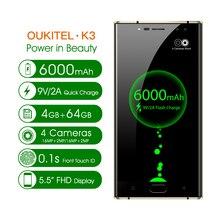 Original Oukitel K3 SmartPhone 5.5