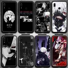 Anime tóquio ghoul japão suave capa de telefone huawei y6p y8s y8p y5ii y5 y6 2019 p prime inteligente pro