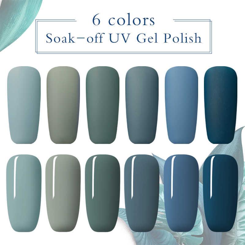 สี่ LILY Matte เจลเล็บ UV UV เจลเล็บ Matte Top Coat Soak Off เคลือบเงาเล็บ Lacquer กึ่งถาวรเล็บเจล