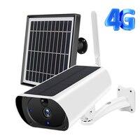 Cámara de seguridad inalámbrica alimentada por batería para exteriores, 3G, 4G, 1080P, HD, WiFi, PIR, detección de movimiento, cámara IP con tarjeta SIM de 2MP