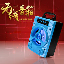 418 Wireless Bluetooth Speaker Stereo Mini Card Instert Portable Outdoor Gift Computer Small Loudspeaker Box(China)
