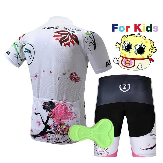 2020 crianças Camisa de Ciclismo manga curta bicicleta desgaste roupas de ciclismo rosa crianças esportes Ao Ar Livre ciclismo roupas MTB ropa ciclismo 2