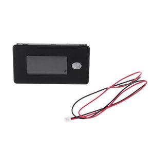Image 5 - סוללה קיבולת מחוון 12V 24V 36V 48V 60V 72V 10 100V ליתיום עופרת חומצת סוללה Tester עם LCD טמפרטורת מד מתח