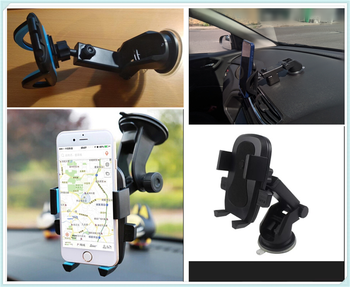 Auto parts GPS instrument panel windshield mobile phone bracket for Ford Taurus Mondeo Galaxy Falcon Everest S-MAX Escort image