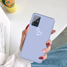 For Samsung Galaxy A51 Case Candy Color Phone Case For Samsung A51 A71 A01 A11 A21 A50 A70 M11 TPU Silicone Cover S20 S20Ultra armor phone case for samsung galaxy a51 cover tpu