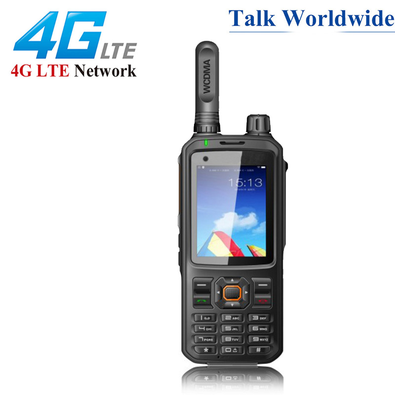 4G Network Radio Unlock T320 Android 7.0 Network Intercom WCDMA GSM POC Radio T-320 Global Call Work With Real-ptt / Zello