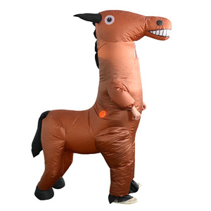 Image 4 - Inflatable Horse Costumes Funny Dolls Halloween Party Performance Carnival Inflatable Costumes for Adult Woman Man