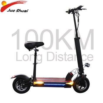Patinete eléctrico de 100KM de distancia, 48V, 500W, Patinete eléctrico Adulto, Patinete plegable, aeropatín eléctrico