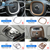 AIRSPEED Chrome ABS Stainless Steel for VOLVO XC90 Accessories 2015 2016 2017 2018 2019 Car Decoration Sticker Interior Moulding discount