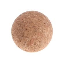 6pcs 36mm Table Football Cork Solid Wood Foosball Table Soccer Ball Fussball 652D