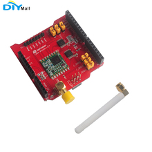 433MHz 915MHz 868MHz Dragino LoRa bouclier émetteur récepteur sans fil longue Distance pour Arduino UNO Mega2560 Leonardo DUE