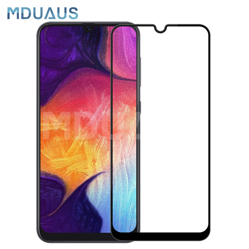 9D Full Cover Tempered Glass For Samsung Galaxy A10 A20 A30 A40 A50 A60 A70 A80 A90 M40 M30 M20 M10 Screen Protector Glass Film