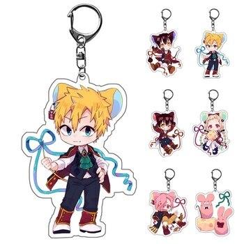 2020 Anime Toilet-Bound Acrylic Keychain Jibaku Shounen Hanako Kun Pendant Keyrings New - discount item  20% OFF Costumes & Accessories