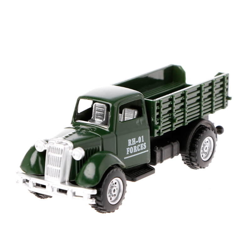Operation Van Vintage Vehicles Model Kids Playing Car Toy Roleplay Action 4 COLOR