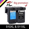 Совместимость PG510 PG-510 CL511 чернильный картридж для Canon PG 510 PG510XL для MP280 MP480 MP490 MP240 MP250 MP260 MP270 IP2700
