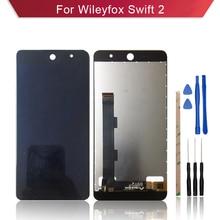 LCD para Wileyfox swift2 swift 2 plus pantalla LCD con digitalizador de pantalla montaje completo