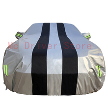 Car Cover Waterproof  Rain Proof Windproof Universal Sun Protection Protector Car Sun Shade Cover Accessories for Audi Bmw Jeep