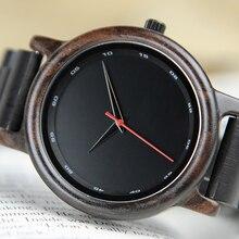 בובו ציפור זכר באיכות גבוהה שעון יד איש במבוק עץ שעונים גברים ב מתנת עץ תיבת erkek kol saati relogio masculino