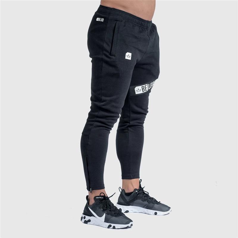Pants Men Pantalon Homme Streetwear Jogger Fitness Bodybuilding Pants Pantalones Hombre Sweatpants Trousers Men SH 21