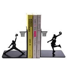 Модный крутой металлический держатель пробки в форме человека для баскетбольного вентилятора, подставка для книг для школьных канцелярских принадлежностей и офисных принадлежностей