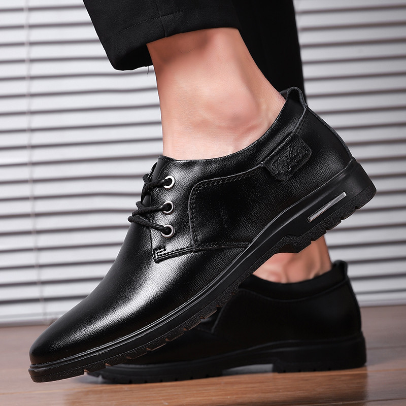 Fashion Men Suit Shoes Business Casual Leather Shoes For Men Comfortable Elegant Official Shoes Men Sapatos Masculino Social