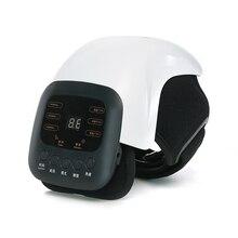 1 Pcs Smart Knie Stimulator Pijnbestrijding Been Massage Reumatische Instrument Infrarood Verwarmde Trillingen Therapie Artrose Shiatsu