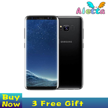 Original Unlocked Samsung Galaxy S8 Plus 4G RAM 64G ROM 6.2 inch Qualcomm Octa Core 4G LTE Mobile Phone