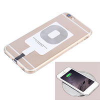 Receptor de Cargador Inalámbrico Qi rápido para iPhone 6 7 Plus, receptor de carga Universal, adaptador de bobina para Micro USB tipo C