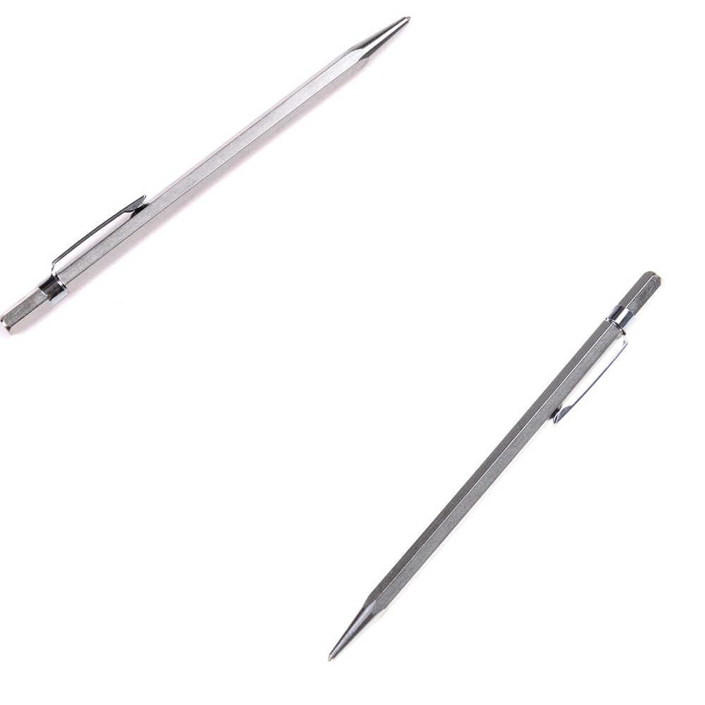 Punta de acero de tungsteno marca del marcador pluma de grabado herramientas de marcado para cerámica vidrio Shell Metal Scribe herramientas de escritura herramientas de mano