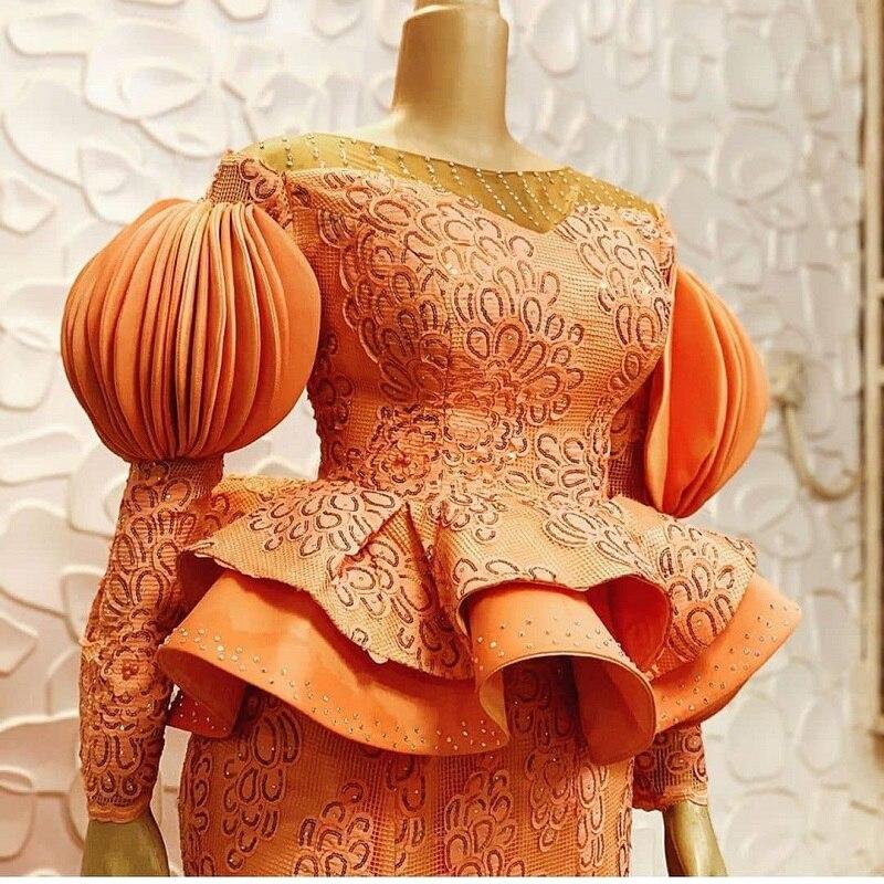 Nigerii tiul koronka z cekinami afryki koronki tkaniny netto wysokiej jakości najnowsze francuski siatki koronki tkaniny dla sukienka na imprezę APW2828B w Koronka od Dom i ogród na  Grupa 1