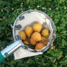 High Altitude Fruit Picking Device Hook Pick Persimmon Walnut Waxberry Apple Gardening Tool Can Match Flexible Rod Silver