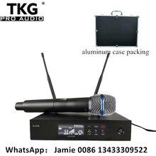 Qlxd4 QLXD4 BE87a Chuyên Nghiệp UHF Ngoài Trời Micro Không Dây Hát Karaoke