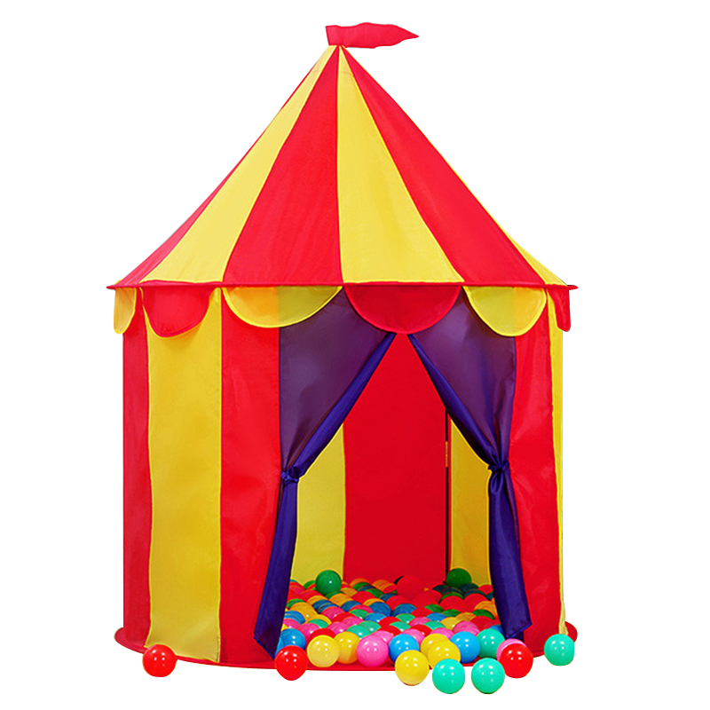 Baby House Tent Circus Castle Game Tents For Children Ocean Ball Pool Toys For Boys Outdoor Indoor Toy Children's Play Tent