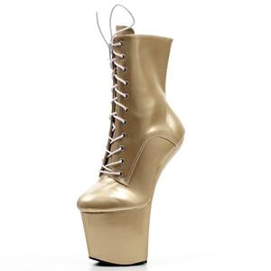 Image 5 - Jialuowei Funtasmaเซ็กซี่Fetishสิทธิบัตรรองเท้าส้นสูงแพลตฟอร์มฮาโลวีนบัลเล่ต์รองเท้าเหมาะสำหรับฮาโลวีน,Goth,Abby,vamp Plusขนาด