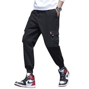 Image 4 - Cargo Pants Men Many Pockets Cotton Camo Camouflage Pantalones Tactical Militar Jogger Sweatpants Teenager 7XL 8XL Male Trousers