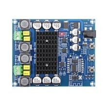XH A304 bluetooth 5.0 de alta potência dupla canal placa amplificador de potência digital tpa3116d2 50wx2 amplificador estéreo em casa teatro