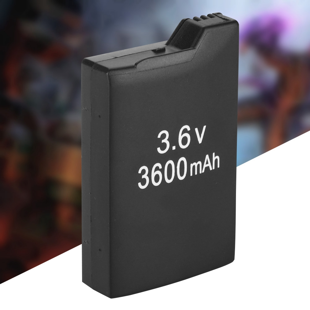 3600mah Battery Pack 3.6V Li-Ion Rechargeable Battery Pack Gaming Batteries For Sony PSP 1000 Controller Game Accessories