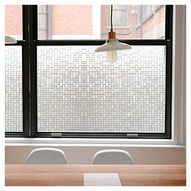 Decorative 3D Window Cling Film Designs Vinyl No Glue Window Privacy Film Static Cling Stained Glass Window Sticker 2
