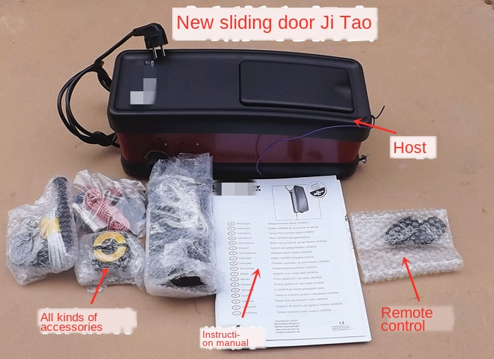 Stock Garage Turning Plate Rolling Door Garage Door Opener Motor LM3800A