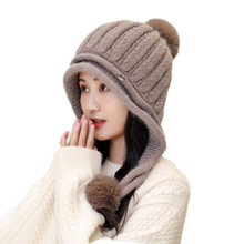 Bingyuanhaoxuan брэндовые зимние теплые Для женщин уха Кепки