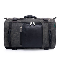 Men Multi function Retro Style Canvas Handbag Large Capacity Computer Bag Military Shoulder Bag